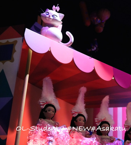HKDL It's a small world フランス マリー