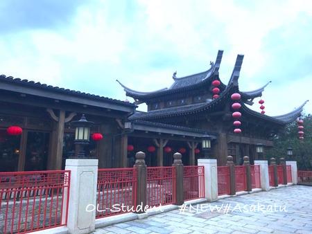 上海ディズニーランド 中華レストラン外観