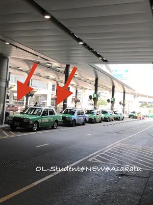 香港空港タクシー乗り場4