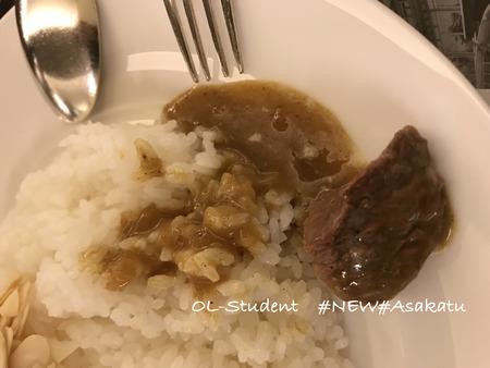 日光金谷ホテル ビーフカレー 肉