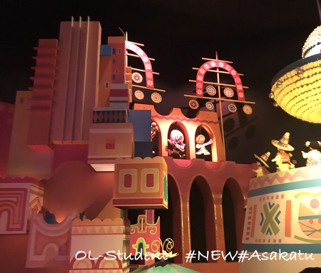 HKDL It's a small world メキシコ 三銃士