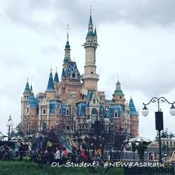 上海ディズニーランド 城