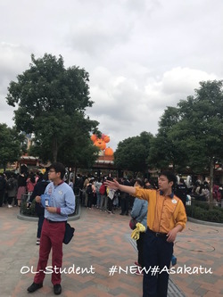 上海ディズニーランド 入り口