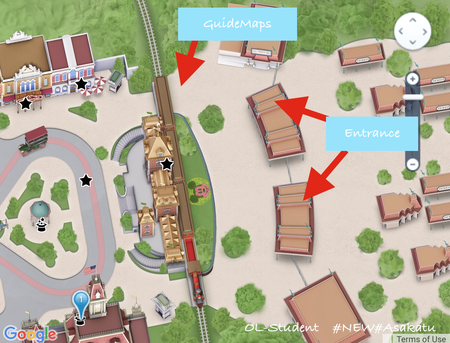 香港ディズニーランド guidemaps