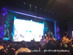 上海ディズニーランド Frozen A Sing-Along Celebration 売り子