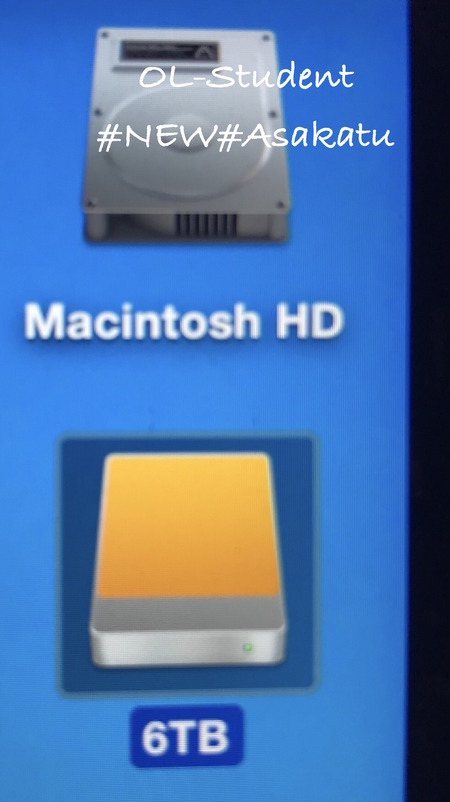 Mac同期 ハードディスク