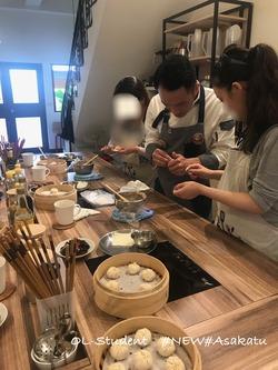 台湾料理研究所 小籠包  レクチャー