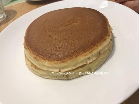 赤坂 FruFull ホットケーキ