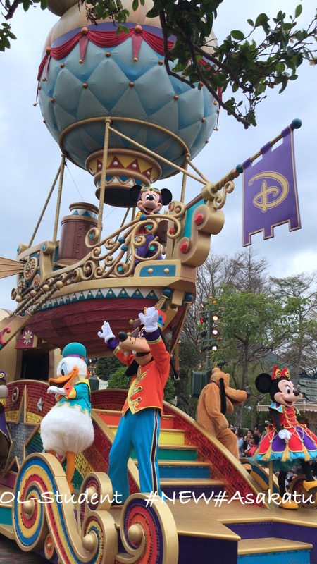 HKDL Flights of Fantasy Parade ミッキー達