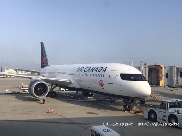 air canada エアカナダ 成田
