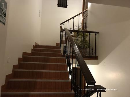 ホテルルミプンク 階段