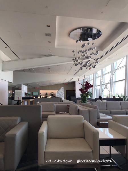 National Bank World MasterCard Lounge モントリオールラウンジ 中2