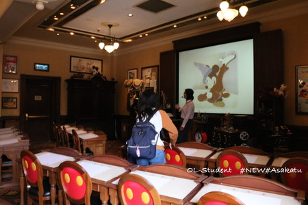 HKDL アニメーションアカデミー 教室内
