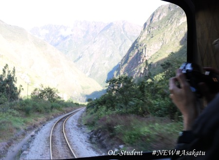 perurail 5 先頭に写真を撮りに来る人たち