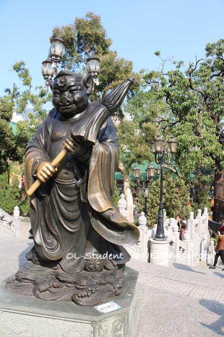 香港 嗇色園黄大仙祠 廟 十二支豚