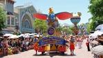 香港ディズニーランドの昼のパレード~Flights of Fantasy Parade~