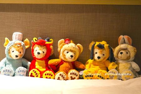 shanghai disney duffy bear Chinese zodiac