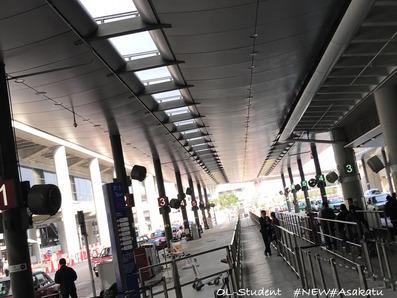 香港空港タクシー乗り場1
