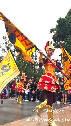上海ディズニーランド 昼パレード マスゲーム ムーラン