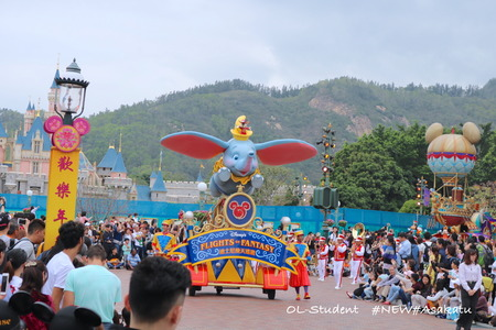 HKDL Flights of Fantasy Parade ダンボ