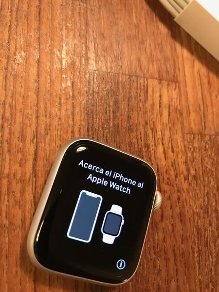 Apple watch series 4 Spanish