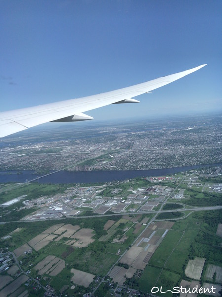 air canada montreal view