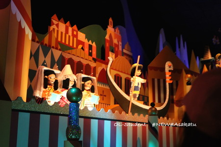 HKDL It's a small world イタリア
