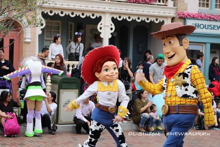 香港ディズニー おかしなパレード ジェシー&ウッディー3