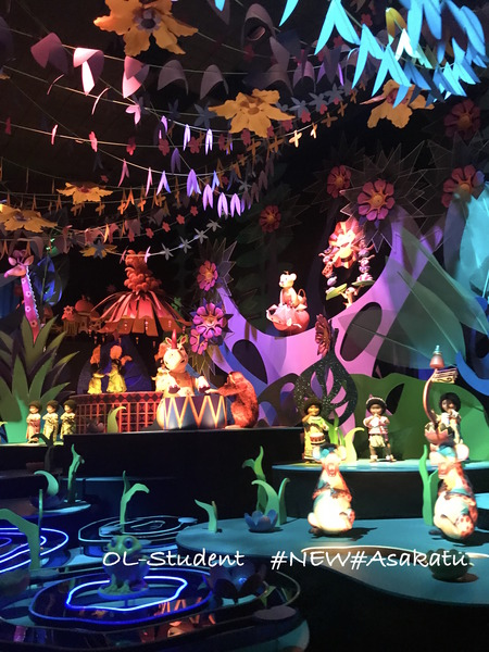 HKDL It's a small world アフリカ