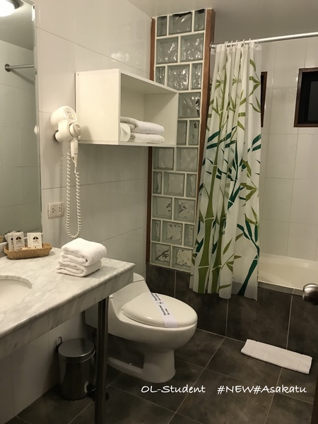 ホテルルミプンク バスルーム