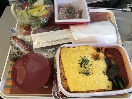 JAL機内食 オムライス