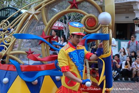 香港ディズニー おかしなパレード ダンボ3 手押し