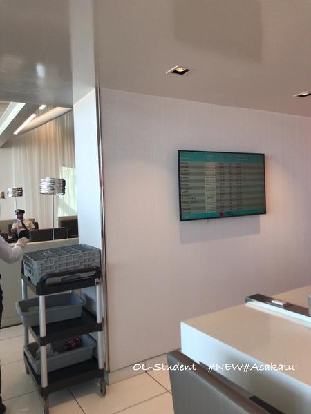 National Bank World MasterCard Lounge モントリオールラウンジ 中