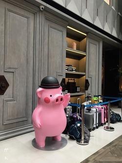 Novotel Shanghai Clover piggy