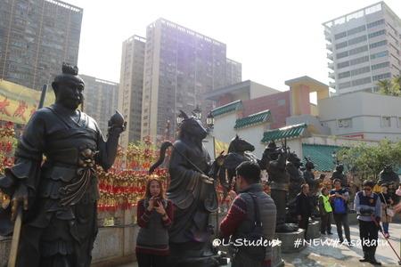 香港 嗇色園黄大仙祠 廟 十二支
