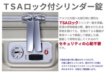 ZERO GRA2 TSAロック