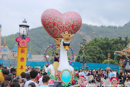 HKDL Flights of Fantasy Parade プリンセス1