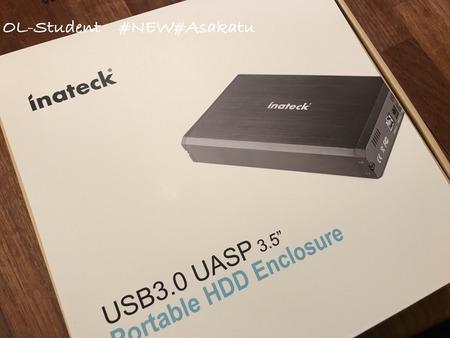 Inateck 2.5:3.5インチ USB3.0 HDD外付けケース