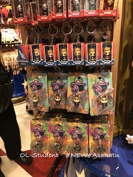 HK airport disney store thor