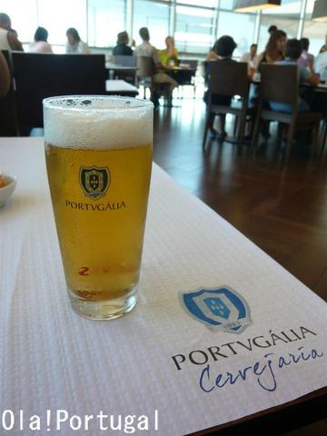 ポルトガルのビアホール:PORTVGALIA Cervejaria (Lisboa)
