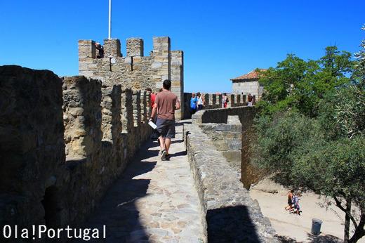 リスボン旅行記:サン・ジョルジェ城