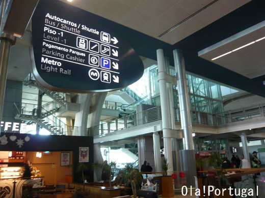 フランクフルト空港乗り継ぎ、ポルト空港