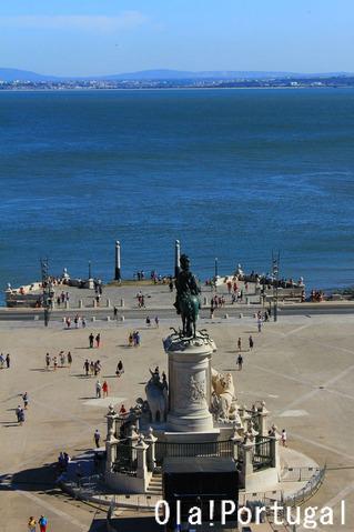 リスボン旅行記:Praca do Comercio コメルシオ広場