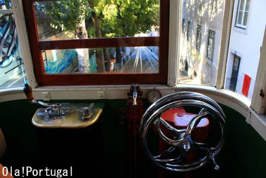 世界の車窓から(ポルトガル):リスボンのケーブルカー
