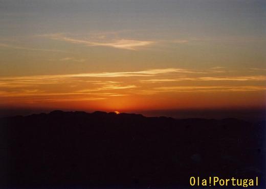 ポルトガル、マルヴァオンの夕日