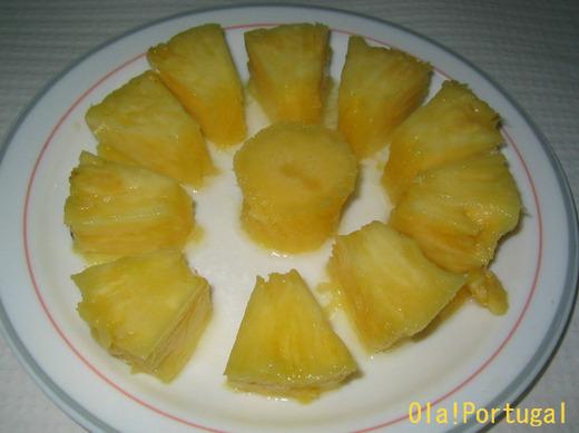 ポルトガルの果物:Ananas アナナシュ(パイナップル)