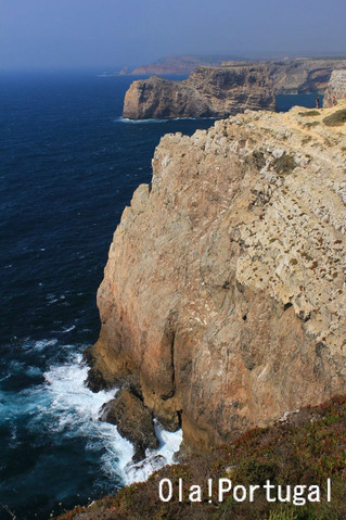 ユーラシア大陸、ポルトガル最西南端サン・ヴィセンテ岬