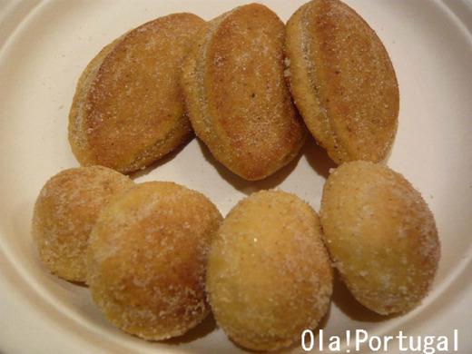 ポルトガルのお菓子:Broas de Mel ブロアス・デ・メル