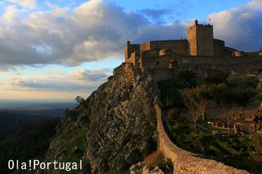 ポルトガルの美しいお城:カステロ・デ・マルヴァオン