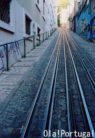 リスボンのケーブルカー:Lavra ラヴラ線に乗ってみた